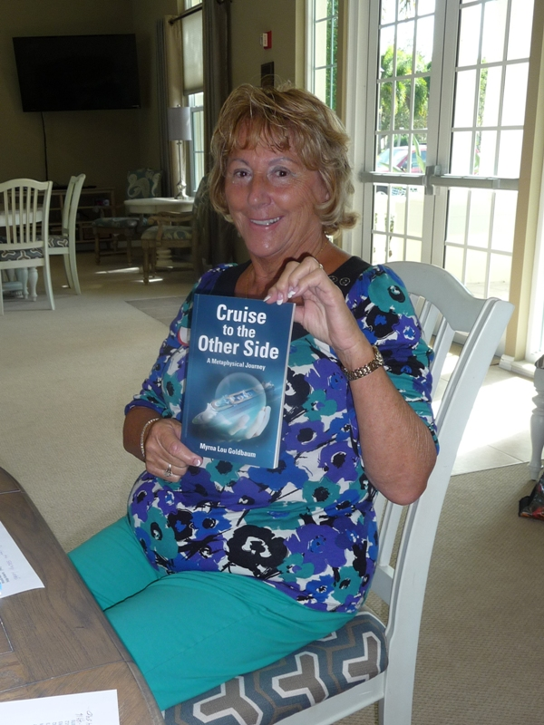 Guest author at the Lake of the Woods Book Club Venice FL